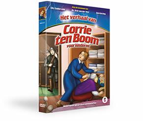 animatiefilm 'het leven van Corrie voor kinderen'