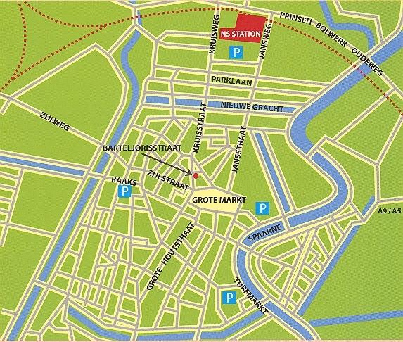centrum van Haarlem